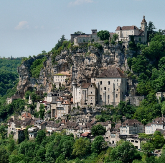 Rocamadour city