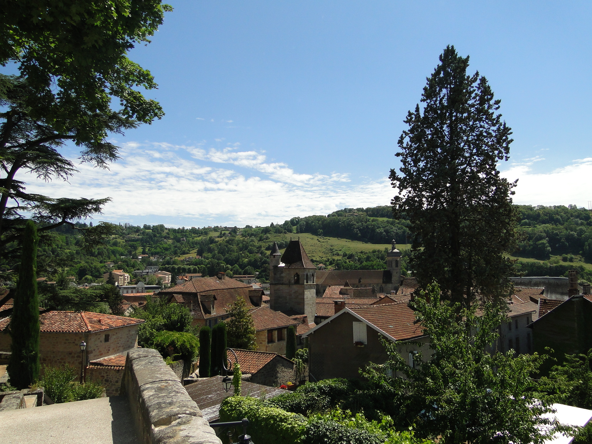 A view of Figeac